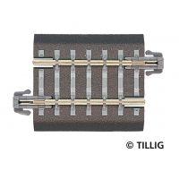 Tillig 83704 Ágyazatos egyenes sín G5 36,5 mm