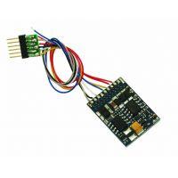 ESU 54613 Mozdonydekóder LokPilot V4.0 DCC, hatpólusú, kábeles, (NEM651)