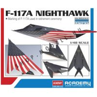 Academy 12219 F-117A Nighthawk Last Flight