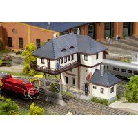 Faller 120108 Nyerges váltóállító központ, váltóőrház, Wuppertal-Elberfeld