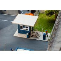 Faller 130626 Pförtnerhaus mit Dachüberstan