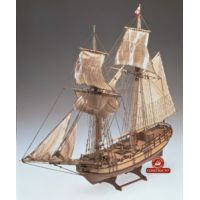 Halifax vitorláshajó makett
