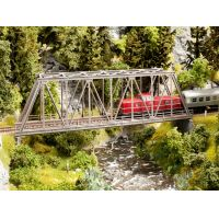 Noch 21320 Vasúti rácsos híd, egysínes, 36 cm