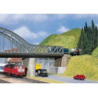 Faller 120534 Rácsszerkezetes vasúti híd bevezető elem