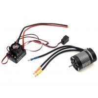Hobbywing EZRun MAX10 Sensorless Brushless ESC/3652SL Motor kombó (5400kV) autómodellekhez