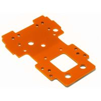 HPI 105892 BULKHEAD LOWER PLATE 2.5MM (narancs)