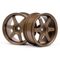 HPI 3843 TE37 felni 26mm BRONZE (3mm OFFSET)