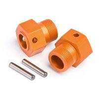 HPI 87495 Kerék hatszög 24x27mm (narancs/2db)