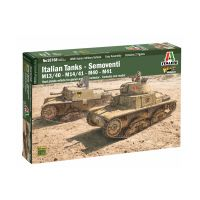 Italeri 15768 Italian Tanks and Semoventi