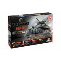 Italeri 36503 World of Tanks-M4 Sherman 1:35 harckocsi