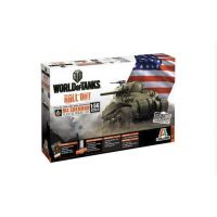 Italeri 56503 M4 Sherman World of Tanks