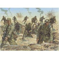 Italeri 6099 WWII - D.A.K. (Deutsches Afrfikakorps), Német Afrika-hadtest gyalogság
