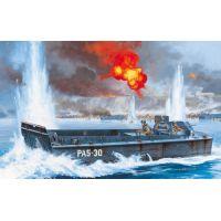LCVP partraszálló hajó