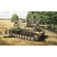 Italeri 6548 PZ. IV F1/F2/G with Ass. Troops