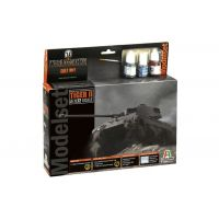 Italeri 74001 Tiger II World of Tanks