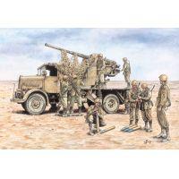 Italeri 7508 Autocannon 3RO with 90/53 AA gun