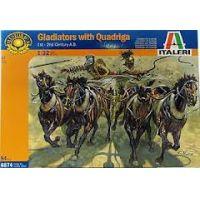 Italeri 6874 Gladiátorok kvadrigával