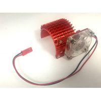 Hűtőborda ventilátorral 540 motorra