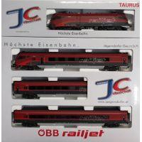 JC70402 Railjet szerelvény, 'Spirit Of Europe', ÖBB VI, Basic verzió