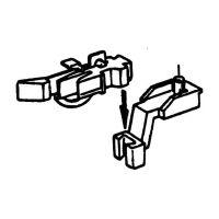 Roco 40281 Kurzkuplung közelkapcsoló, csapos tartójú Fleischmann modellekhez, 2 db