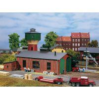 Auhagen 11403 Fűtőház, kétállásos