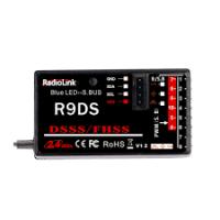 R9DS 10 csatornás , 2.4GHz vevő dsss&fhss