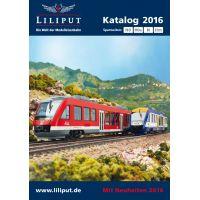 Liliput 20150 Katalógus 2016 H0, H0e, N, IIm