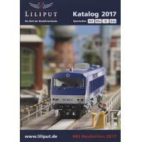 Liliput 020170 Katalógus 2017, H0, H0e, N