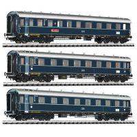 Liliput 330501 Személykocsi szett Dompfeil (háromrészes), DB III