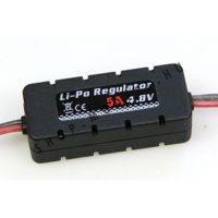 LiPo regulator BEC elektronika 4,8V 5A