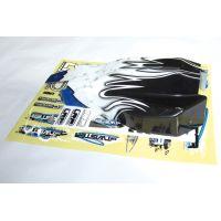 LRP 124043 S10 Twister BX festett kaszni