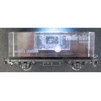 Märklin 94233 Mobile Station reklám teherkocsi 3D-s lézergravírral