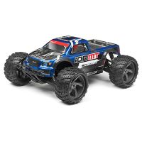 Maverick MV28068 MONSTER TRUCK PAINTED BODY BLUE WITH DECALS ION MT
