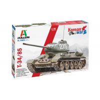 Italeri 6585 T-34/85 harckocsi makett