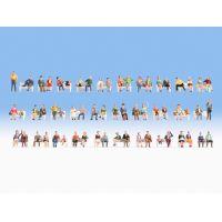 Noch 16071 Ülő figurák (pad nélkül), 60 db
