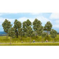 Noch 24215 Nyári fák talp nélkül, 4-10 cm, 10 db