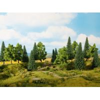 Noch 24622 Vegyes fák, 14-18 cm, 6 db