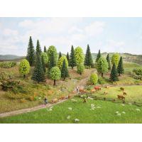 Noch 26911 Lombhullató fák és fenyőfák, 5-14 cm, 10 db
