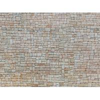 Noch 56642 3D-s dekorlap, mészkőtéglás fal, 250 x 125 mm