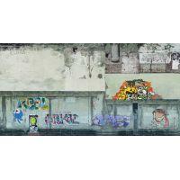Noch 56669 3D-s dekorlap, graffitis fal, 250 x 125 mm