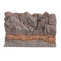 Noch 58152 Sziklafal, kőomlás elleni palánkkal