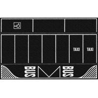 Noch 60718 Parkolóhelyek, aszfaltburkolat-lap, 2 db