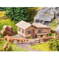 Noch 63616 Lézervágott jelenet, 'Alm' alpesi legelő, házzal