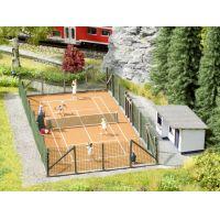 Noch 65615 Teniszpálya, kiegészítőkkel, figurákkal