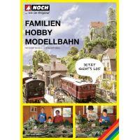 Noch 71904 A Family Hobby Model Railway terepasztalépítési könyv - német nyelvű