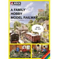 Noch 71905 A Family Hobby Model Railway terepasztalépítési könyv  -angol nyelvű