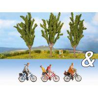Noch 94005 Nyárfák kerékpárosokkal