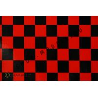 Oracover FUN piros-fekete