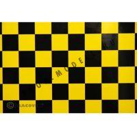Oracover kockás sárga-fekete