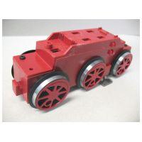 Piko 36106 Komlplett hajtás csapágyazással BR 80 gőzmozdonyhoz piros G kerti vasút